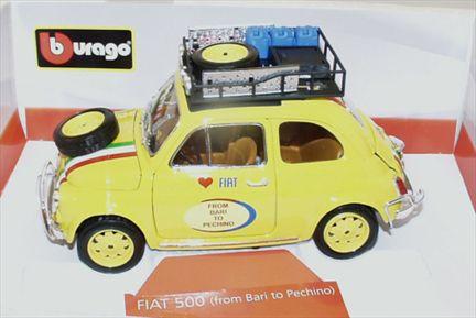 Fiat 500 ( From Bari to Pechino )
