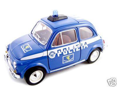 Fiat 500 Polizia