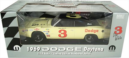 1969 Dodge Daytona #3 Don White
