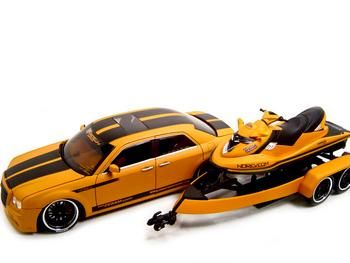 Chrysler 300 c + JET SKI