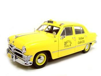Ford 1950 Yellow Cab