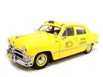 Checker Cab London >> Ford 1950 Yellow Cab
