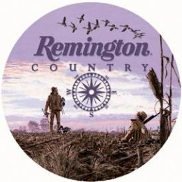 Remington Country (Round Tin Sign)