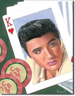 Elvis King Of Hearts