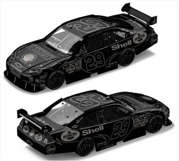 Kevin Harvick #29 ARC Black Label Impala SS 2008
