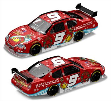 Kasey Kahne #9 Sam Bass Holiday Dodge Charger 2008
