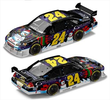Jeff Gordon #24 Foundation Holiday Chevy Impala SS 2008