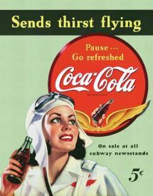 Sends Thirst Flying - Pause... Go refreshed Coca-Cola