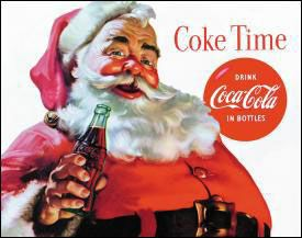 Coke Time Père Noël
