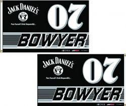 Drapeau Clint Bowyer #07 Jack Daniel's