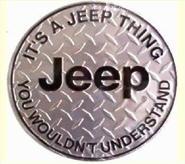 It's A Jeep Thing You Wouldn't Understand