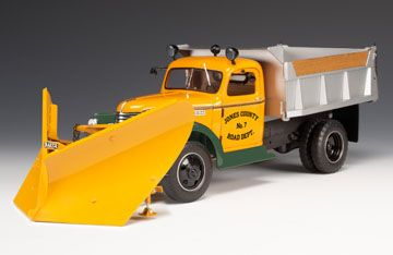 Chevy Snow Plow 1946