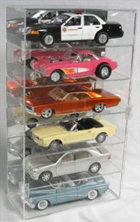 Display Case for 6 1/18 Vertical