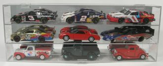 Display Case for 9 1/24 WITHOUT Verticals Separator