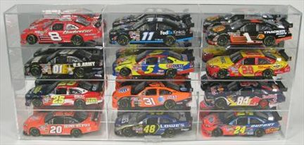 Display Case for 12 1/24 WITH Verticals Separators