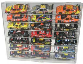 Display Case for 21 1/24 Angle WITH Verticals Separators