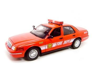 Ford Crown Victoria Fire Chief 2001