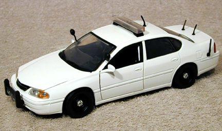 Chevrolet Impala 2002 Police