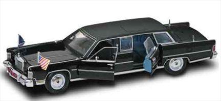 Lincoln Continental Reagan Car 1972