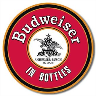 BUDWEISER - In Bottles Round