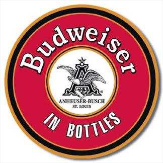 BUDWEISER - In Bottles Round