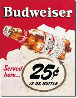 Budweiser - 25 Cent