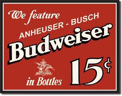 Budweiser 15 Cents