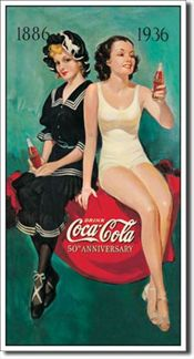COKE - 50th Annv. Bathers