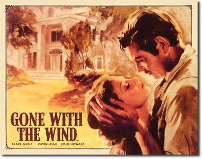 Gone with the wind Gable-Leigh-Howard