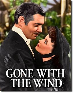 Gone With The Wind - Scarlet & Rhett