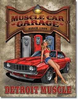 Legends - Muscle Car Garage - Detroit Muscle