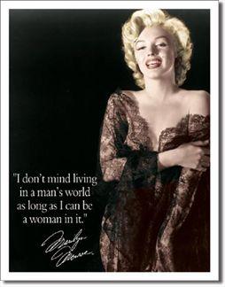 Marilyn - Man's World