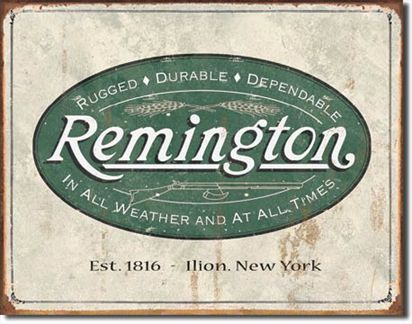 Remington - Weathered Logo