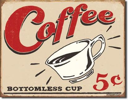Schonberg - Coffee Bottomless Cup 5 cents