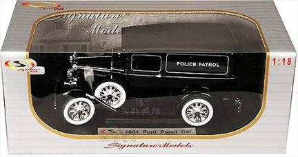 1931 Ford Panel Car Police