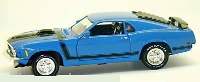 Ford Mustang Boss 302 1970 Shaker Hood