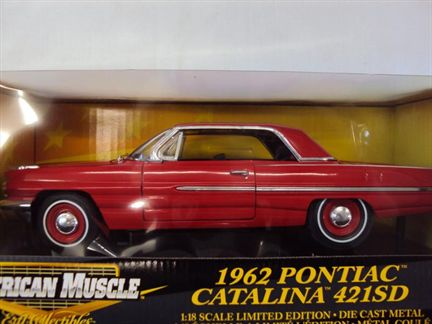 1962 Pontiac Catalina 421SD Limited      1 left
