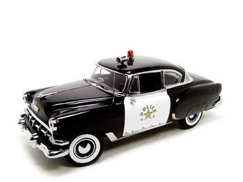Chevrolet Bel Air 1954 Police, San Antonio Police officer