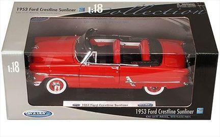 Ford Crestline Sunliner 1953 convertible