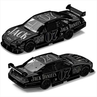 Clint Bowyer #07 Jack Daniels ARC Black Label 2008 Impala SS