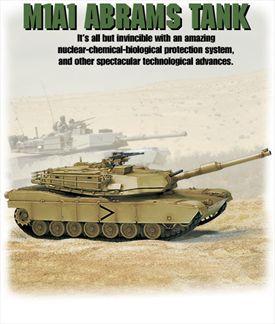 M1A1 Abrams Tank US, TRÈS DÉTAILLÉ