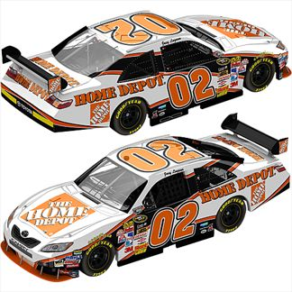 Joey Logano #02 The Home Depot Toyota Camry 2008