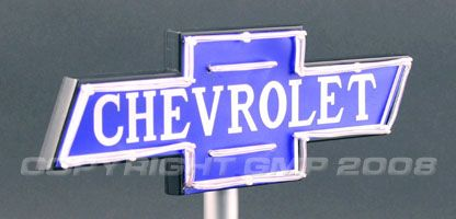 Chevrolet Light Sign