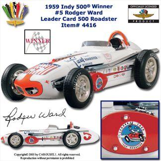 Watson Roadster 1959 Indy 500 Winner #5 Rodger Ward