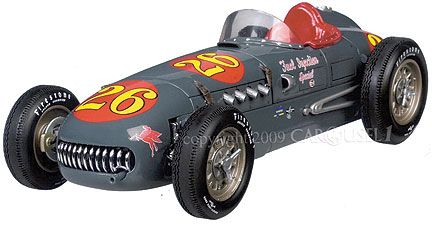kurtis Kraft Roadster 1952 Indy 500 #26 Bill Vukovich / Fuel Injection Special