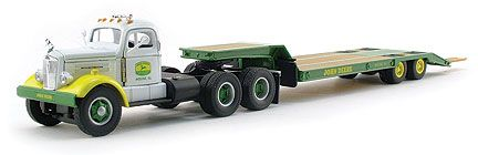 John Deere WC22 With Lowboy Trailer