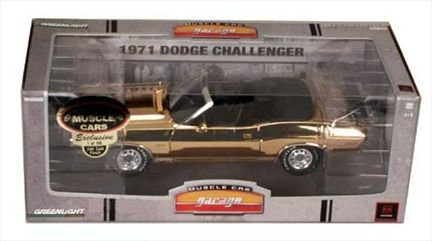 Dodge Challenger 1971 Convertible *Limited Gold Plated Version*