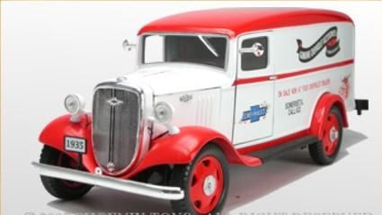 Chevrolet Sedan Delivery Van 1935