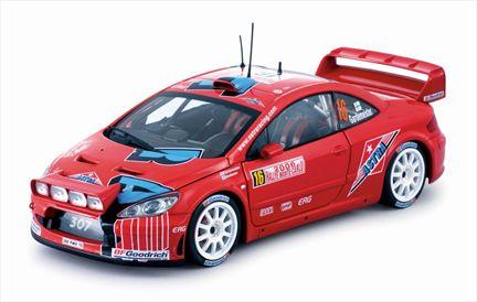 Peugeot 307 WRC Gardemeister/honkanen Rally Monte-Carlo 2006