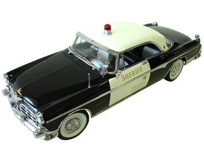 Chrysler Imperial 1955 Police Car